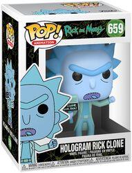 Clone De Rick Hologramme - Funko Pop! n°659
