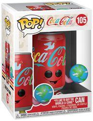 I'd Like to Buy the World a Coke Can - Funko Pop! n°105