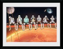 Stormtroopers Sur Échafaudage