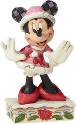Mini Figurine Minnie Mouse Noël