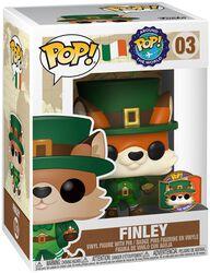 Around the World - Finley (POP & Pin) (Irlande) (Funko Shop Europe) - Funko Pop! n°03
