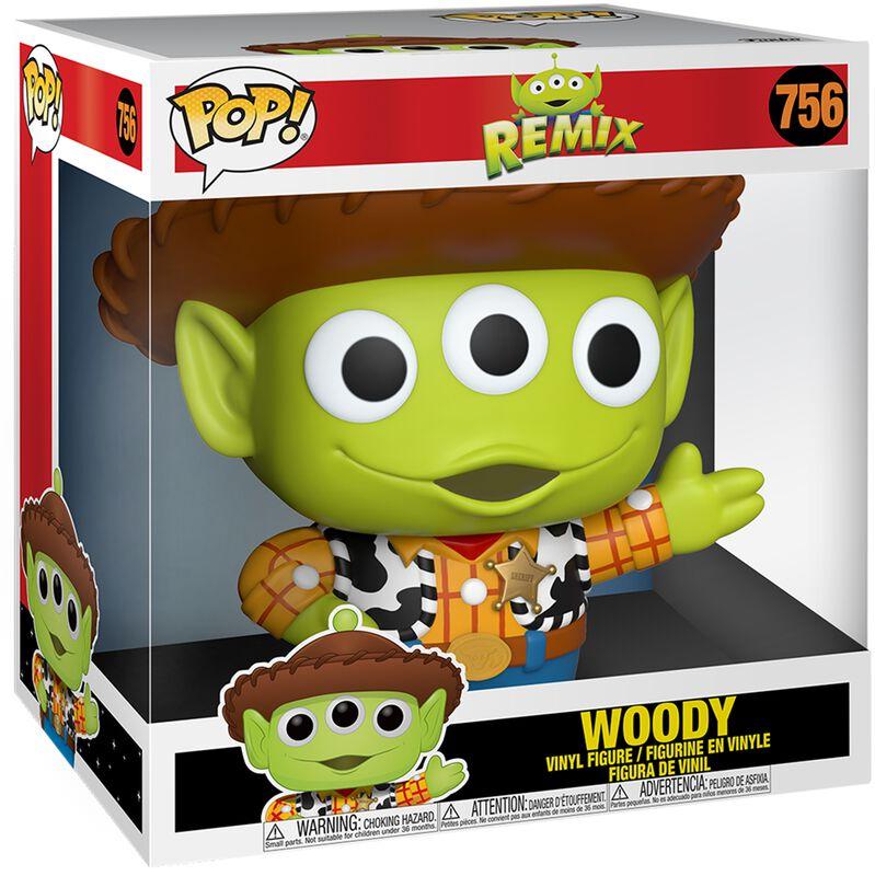 Alien En Woody (Jumbo Pop!) - Funko Pop! n°756