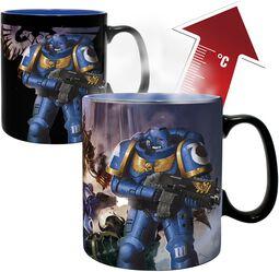 Ultramarie & Black Legion - Mug Thermo-Réactif