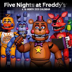 Five Nights At Freddy''s - Calendrier Mural 2020