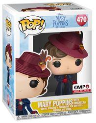 Figurine En Vinyle Mary Poppins Avec Parapluie - Funko Pop! n°470