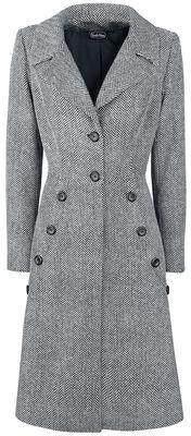 Manteau Style Années 40 Nicole Gris