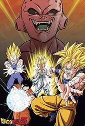 Dragon Ball Z - Buu VS. Saiyans