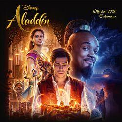 Aladdin - Calendrier Mural 2020