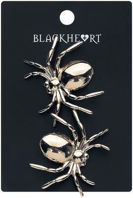 Barrette Gold Spider