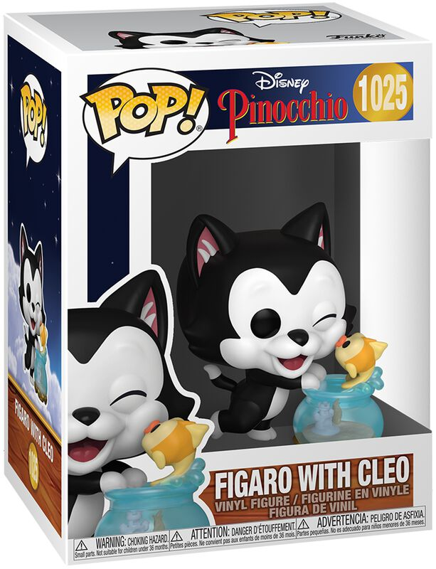 80ème Anniversaire - Figaro & Cléo - Funko Pop! n°1025