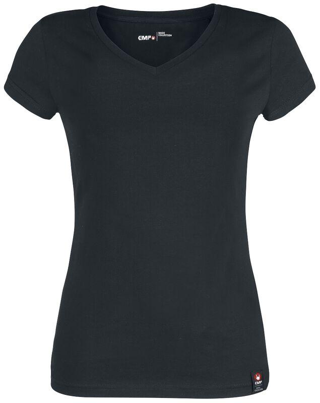 T-Shirt Noir Logo EMP