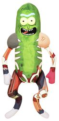 Peluches Galactiques : Pickle Rick En Costume De Rat (env. 46 cm)
