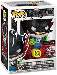 Dr. Strange Avec Energy (GITD) - Funko Pop! n°750