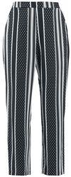 Pantalon Rayures & Pois