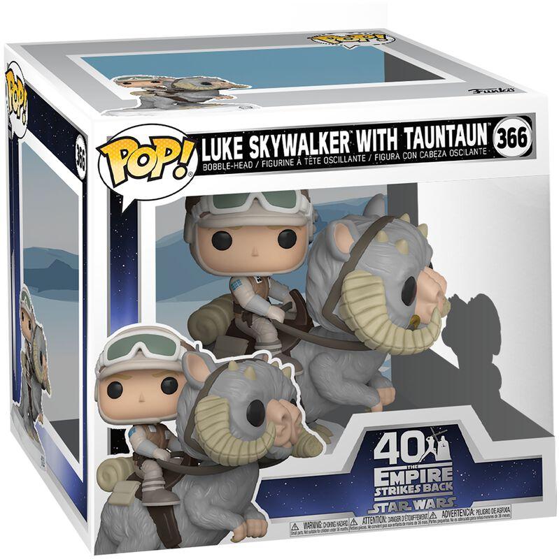 L'Empire Contre-Attaque 40ème Anniversaire - Luke Skywalker Avec Taun-Taun (Pop! Deluxe) - Funko Pop! n°366