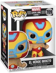 El Héroe Invicto - Marvel Luchadores - Vinyl Figur 709