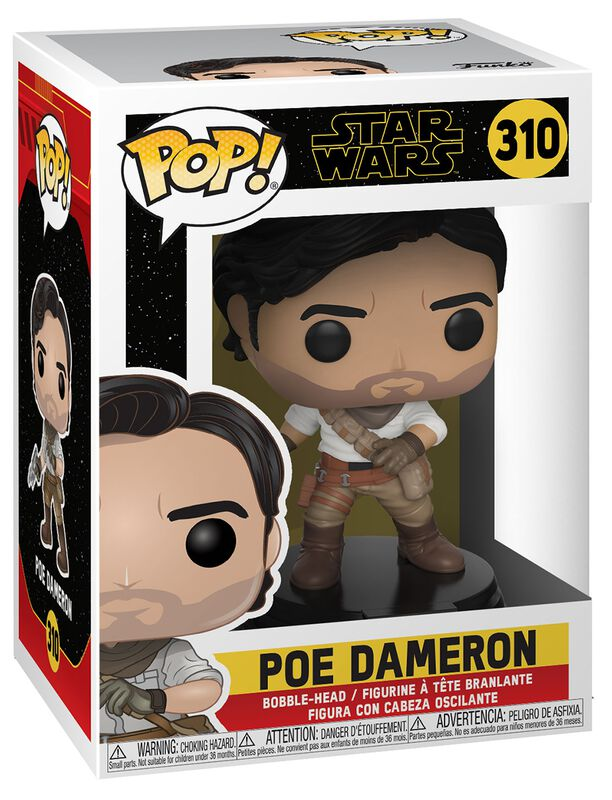 Épisode 9 - L'Ascension de Skywalker - Poe Dameron - Funko Pop! n° 10