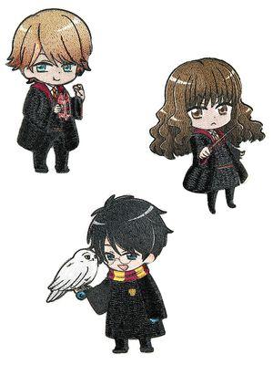 Harry, Ron & Hermione