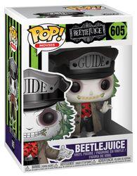 Figurine En Vinyle Beetlejuice (Chapeau De Guide) 605