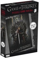 Ned Stark Sur Le Trône De Fer (1 000 Pièces)