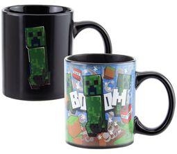 Creeper - Mug Thermo-Réactif