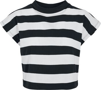 Lot De 2 T-Shirt Crop-Top Rayé