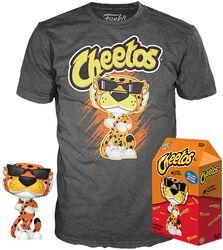 POP Ad Icons: Cheetos - Chester Cheetah - T-Shirt plus Funko