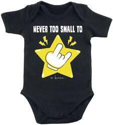 Never Too Small To Rock