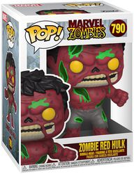 Zombies - Red Hulk Zombie - Funko Pop! n°790