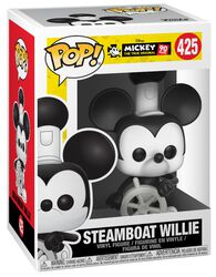90e Anniversaire de Mickey - Steamboat Willie - Funko Pop! n°425
