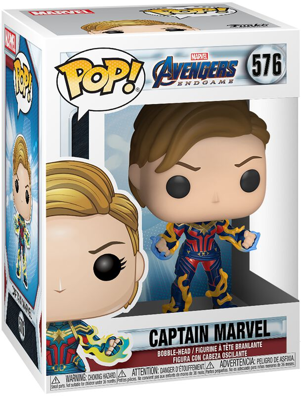 Endgame - Captain marvel - Funko Pop! n°576