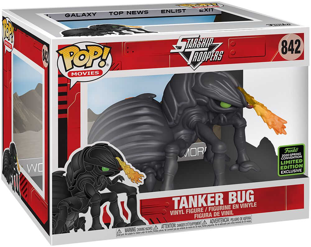 Starship Troopers Tanker Bug (Super Pop) - ECCC 2020 - Funko Pop! n°842