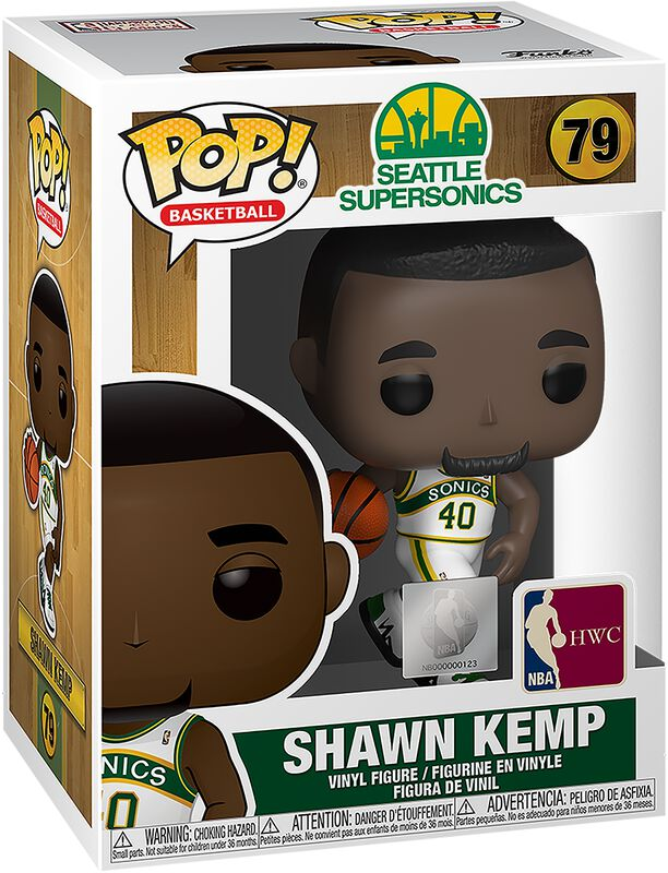 Seattle SuperSonics - Shawn Kemp - Funko Pop! 79