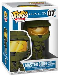 Figurine En Vinyle Master Chief With Cortana 07