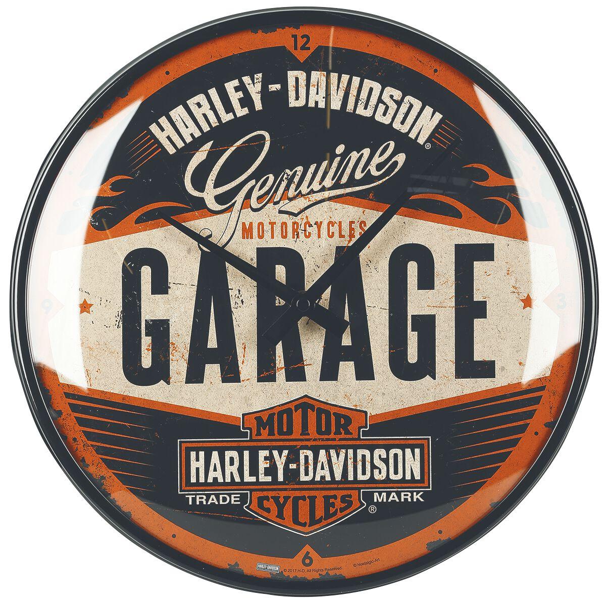 351a77254819 Garage   Harley Davidson Horloge murale   EMP