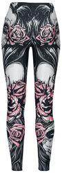 Leggings Muerta Roses