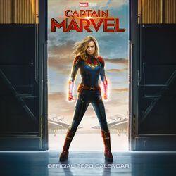 Captain Marvel - Calendrier Mural 2020