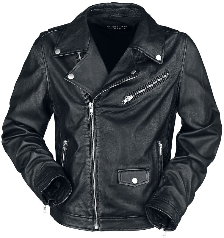 NJ Cross Leather Moto Jacket