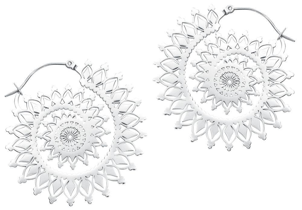 Créoles Silver Floral Nautilus