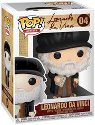 Artistes - Leonard De Vinci - Funko Pop! n°04