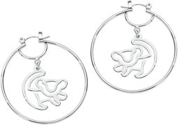 Disney By Couture Kingdom - Boucles D'Oreille Créoles Simba