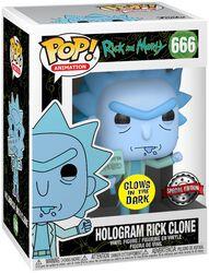 Clone De Rick Hologramme - Funko Pop! n°666