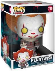 Pennywise Avec Bateau (Jumbo Pop!) - Funko Pop! n°786