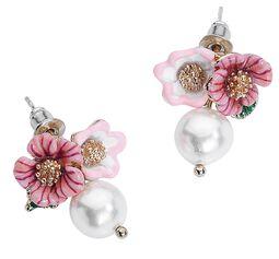 Clous D'Oreille Cute Flower Pearl