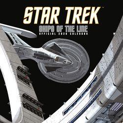 Star Trek - Calendrier Mural 2020 - Vaisseaux