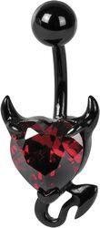 Crystal Devil Heart