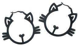 Boucles d'oreilles Meow