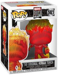 80th - Human Torch Originel - Funko Pop! n°501