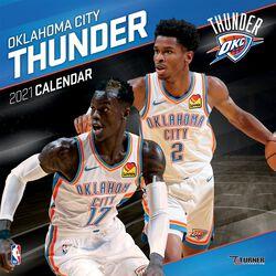 Oklahoma City Thunder - Calendrier 2021