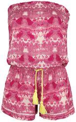 RED X CHIEMSEE - Combi-Short Batik Blanc/Rouge